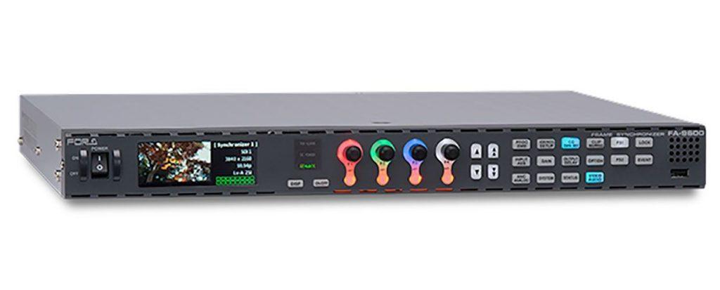 El nuevo FA-9600 de For-A es la herramienta más completa para el procesamiento de audio y video